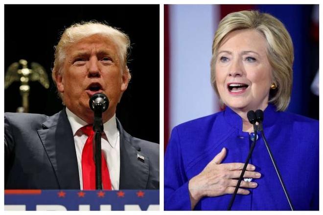 Trump va Hillary truoc tranh luan truyen hinh anh 1