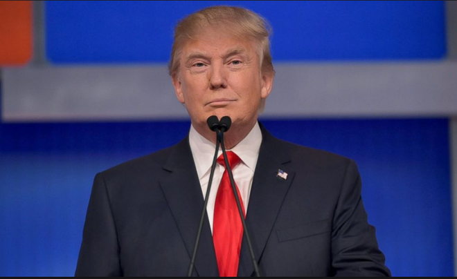 Clinton va Trump sam vai nao trong cuoc tranh luan dau tien hinh anh 1