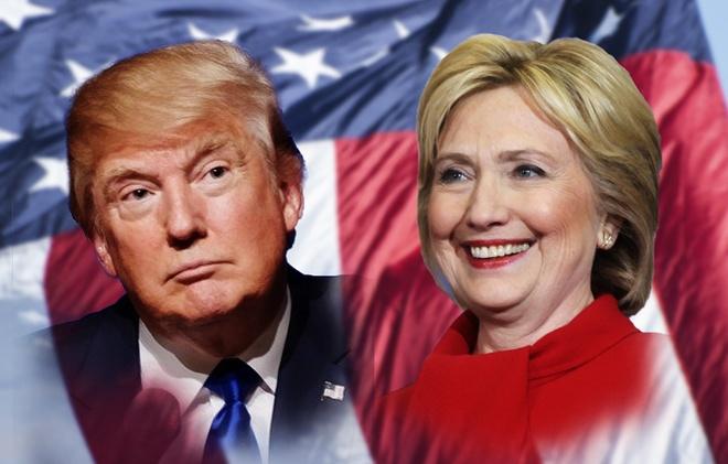 Clinton va Trump sam vai nao trong cuoc tranh luan dau tien hinh anh