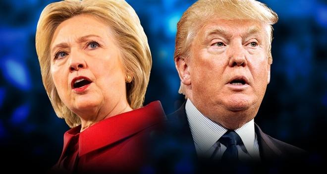100 trieu luot nguoi xem Trump dau khau voi Clinton hinh anh