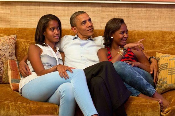 Tong thong Obama khong can con gai nhap ngu hinh anh 1
