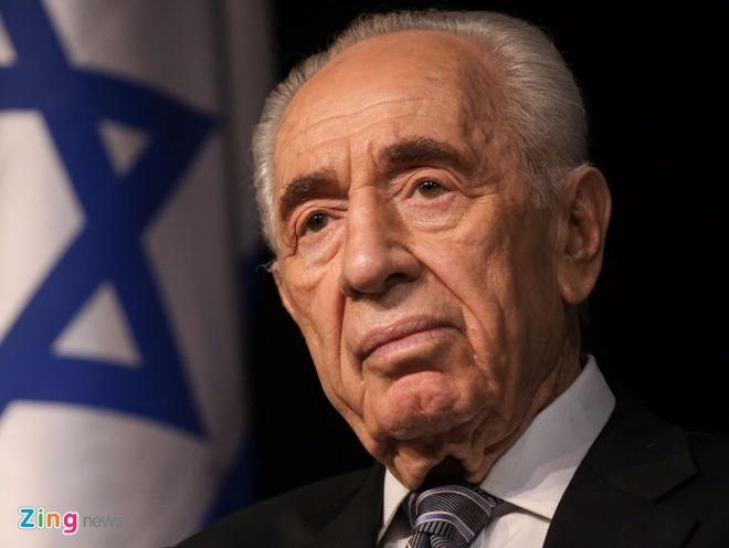 DSQ Israel tai VN mo so tang cuu tong thong Shimon Peres hinh anh