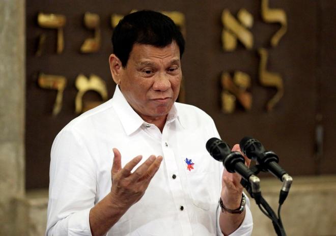 tong thong Duterte duoc danh gia rat tot anh 1