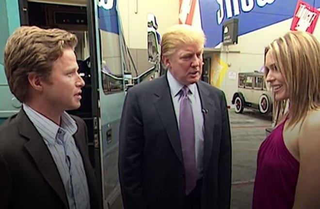 Nguoi mau trong video tuc tiu cua Trump len tieng hinh anh 2