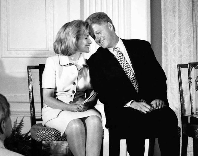 Hon nhan song gio hon 4 thap ky cua vo chong Clinton hinh anh
