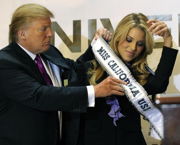 Trump 'hanh ha' thi sinh o cuoc thi sac dep the nao? hinh anh 2