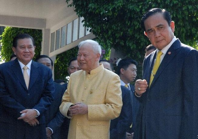 Tuong Prem lam nhiep chinh truoc khi Thai Lan co vua moi hinh anh