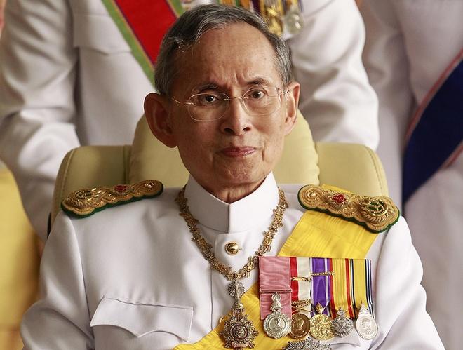 Thai Lan to chuc quoc tang nha vua nhu the nao? hinh anh