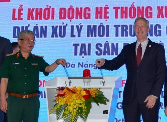 Viet Nam va My xu ly o nhiem dioxin giai doan 2 tai Da Nang hinh anh