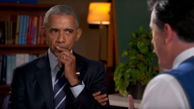 Obama tap duot phong van xin viec sau khi roi Nha Trang hinh anh