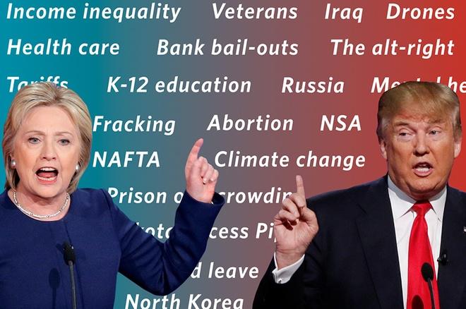 Cuc dien bang chien truong quan trong cua Clinton - Trump hinh anh