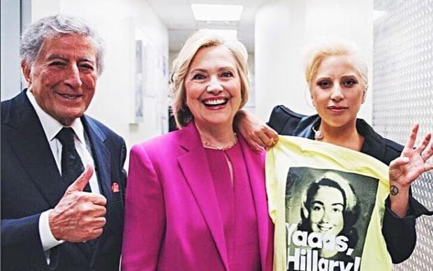 Hollywood ung ho Clinton, quay lung voi Trump hinh anh