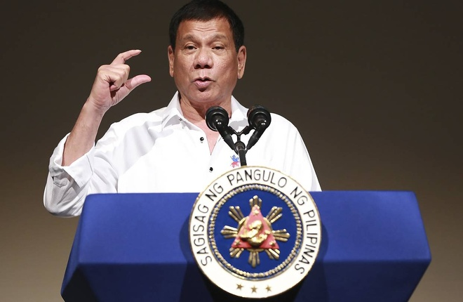 Tong thong Duterte hua se khong chui the them nua hinh anh 1
