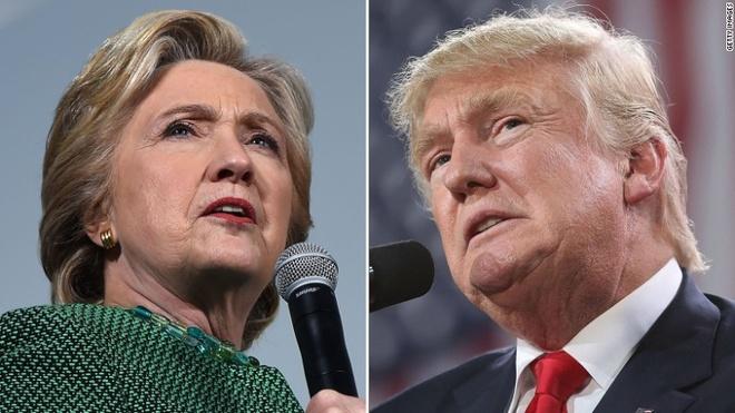 Vi sao Donald Trump troi day, de doa ba Clinton? hinh anh