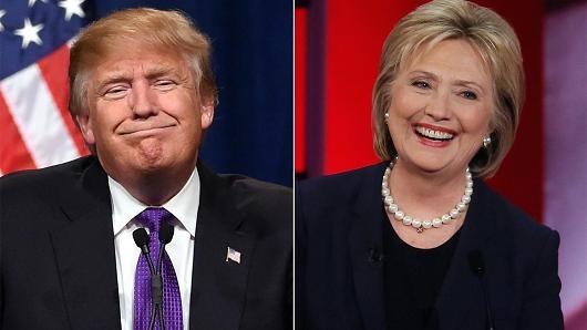 Ba Clinton gianh lai vi tri dan dau tren duong dua hinh anh