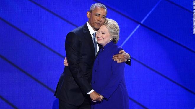 ong ba Obama ung ho Hillary Clinton anh 1
