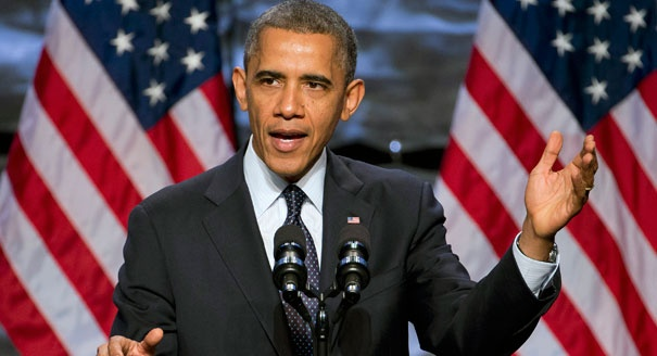 Obama phat bieu trong ngay bau cu My anh 1