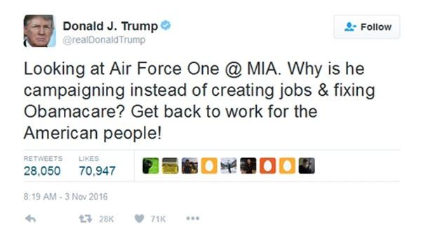 Trump vuot Obama, tro thanh 'tong thong mang xa hoi' hinh anh 1