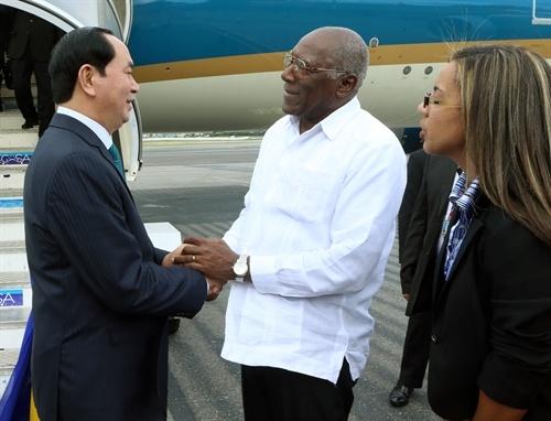Chu tich nuoc Tran Dai Quang hoi kien Lanh tu Fidel Castro hinh anh 3