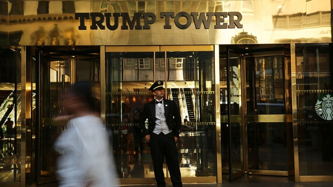 Bao ve toa thap Trump la thach thuc chua tung co hinh anh 1