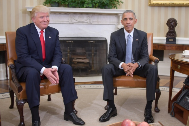 Obama canh bao Trump anh 1