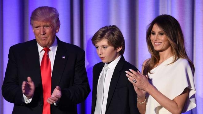 Trump se phai song xa vo con trong nua nam hinh anh