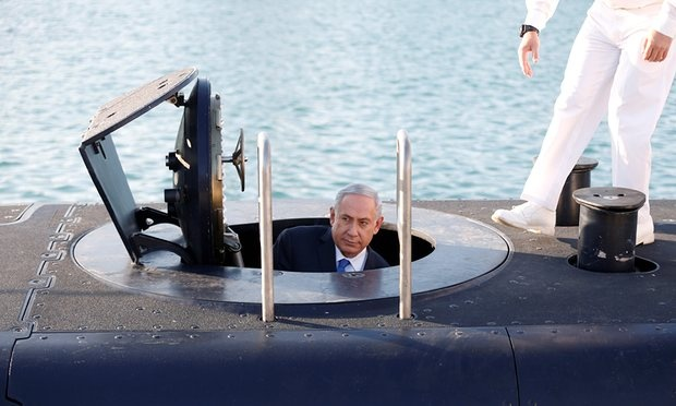 Israel dieu tra be boi thu tuong mua tau ngam hinh anh