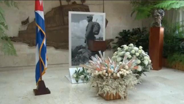 Cuba cong bo hinh anh hop dung tro cot lanh tu Fidel Castro hinh anh 1