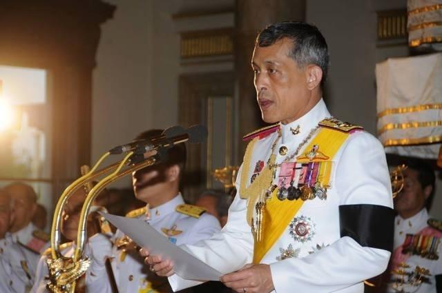 Thai tu Thai Lan chinh thuc tro thanh Quoc vuong Rama X hinh anh