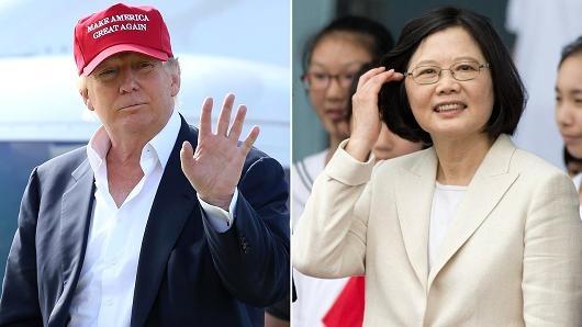 Trung Quoc len tieng ve cuoc dien dam giua Trump voi nha lanh dao Dai Loan anh 1