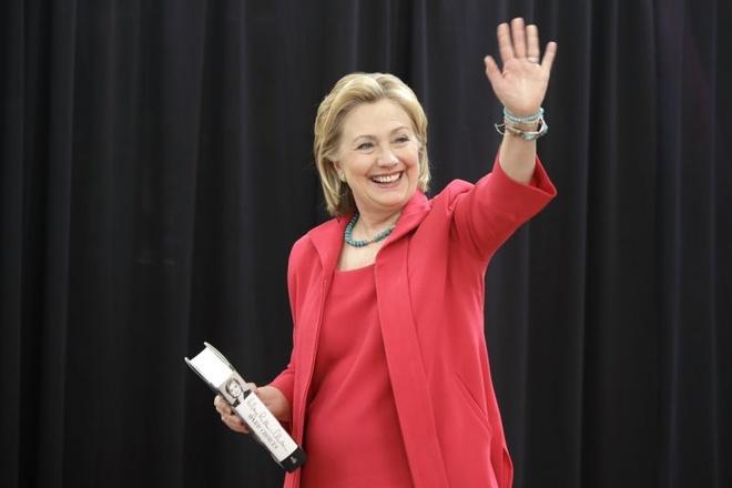 Hillary Clinton co the tranh chuc thi truong New York hinh anh 1