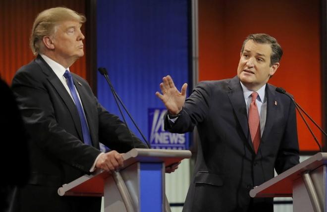 Doi dau Trump - Cruz: Con ac mong cua dang Cong hoa hinh anh