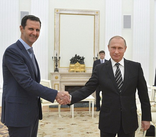 Chi al-Assad buon khi Nga roi Syria hinh anh