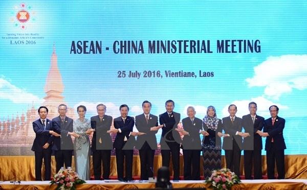 Trung Quoc - ASEAN cam ket giai quyet tranh chap Bien Dong hinh anh