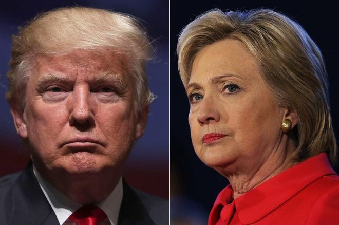 Donald Trump tu chui dau vao bay cua ba Clinton hinh anh