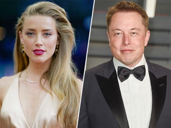 Ty phu Elon Musk 'da' Amber Heard: Cach yeu cua dan ong quyen luc hinh anh