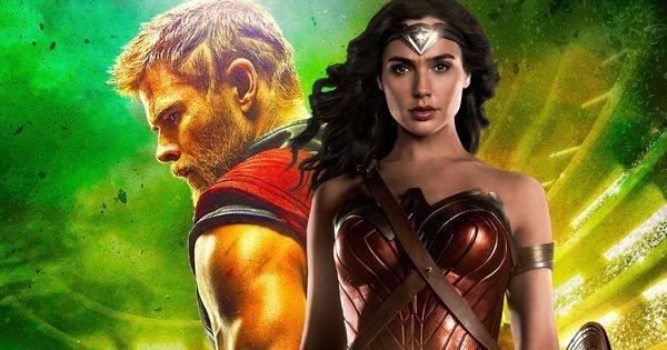 Cuoc dai chien giua Superman, Wonder Woman voi Thor, Hulk hinh anh