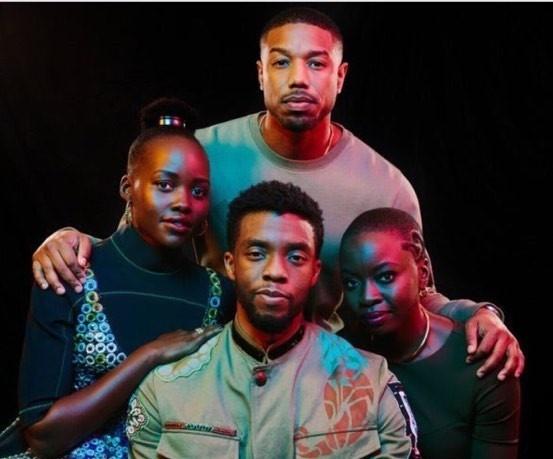 'Black Panther' thang lon: Nang luong va quyen luc da mau o Hollywood hinh anh