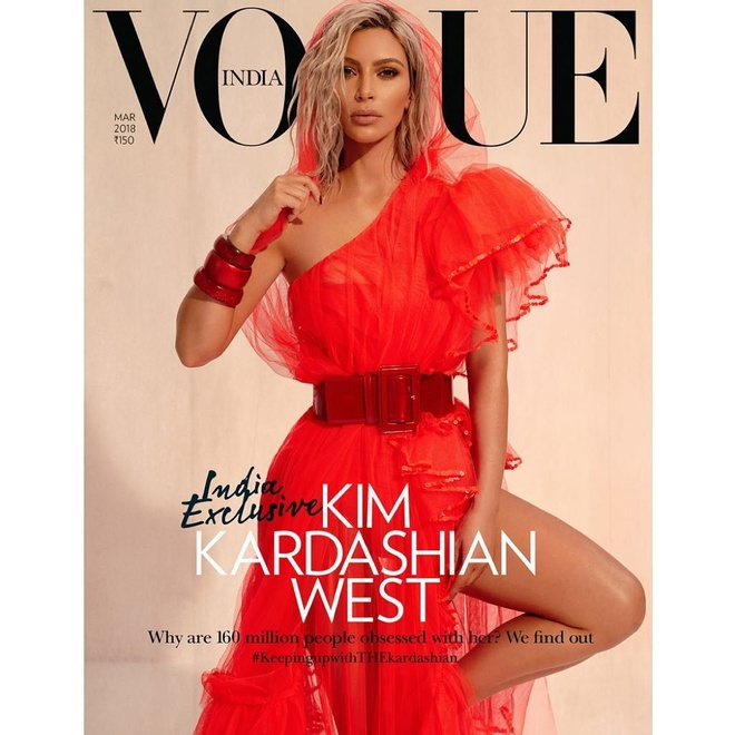 Len bia Vogue An Do, Kim 'sieu vong 3' bi chi trich du doi hinh anh 1