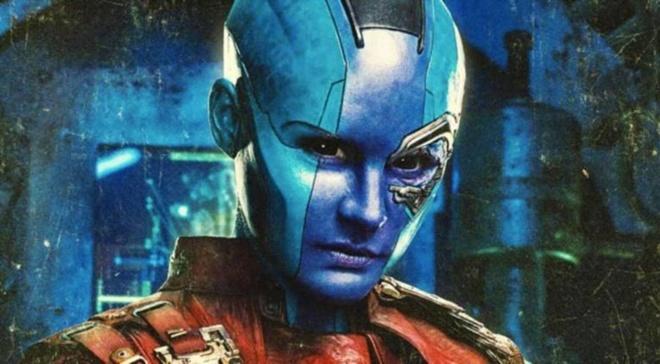 Con gai Thanos se thanh dai ac nhan o phan sau 'Cuoc chien Vo cuc'? hinh anh