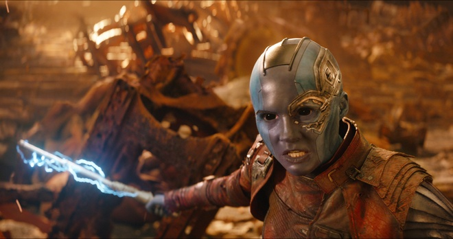 Con gai Thanos se thanh dai ac nhan o phan sau 'Cuoc chien Vo cuc'? hinh anh 1