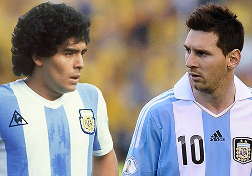 Messi khong the gianh World Cup mot minh, vi Maradona cung vay hinh anh