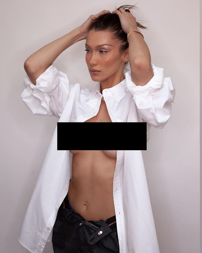 Bella Hadid  ban nude anh 4