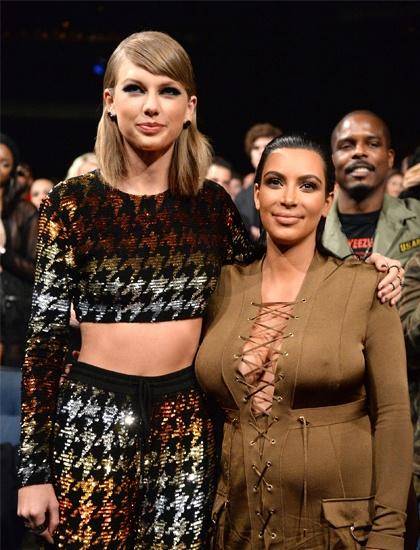 Kim Kardashian dan mat va trach Taylor Swift ich ky, noi doi hinh anh 1 t.jpg