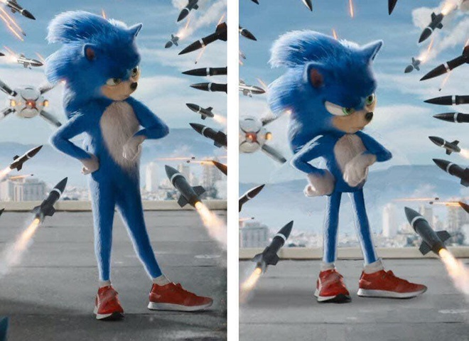 Tham hoa Sonic bi fan phan doi khap mang xa hoi, dao dien hua sua sai hinh anh 2