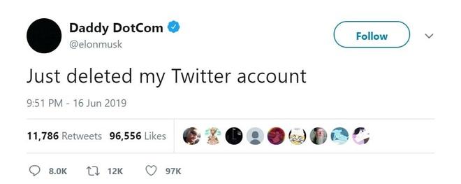 Elon Musk dang tweet tuyen bo xoa Twitter hinh anh 1