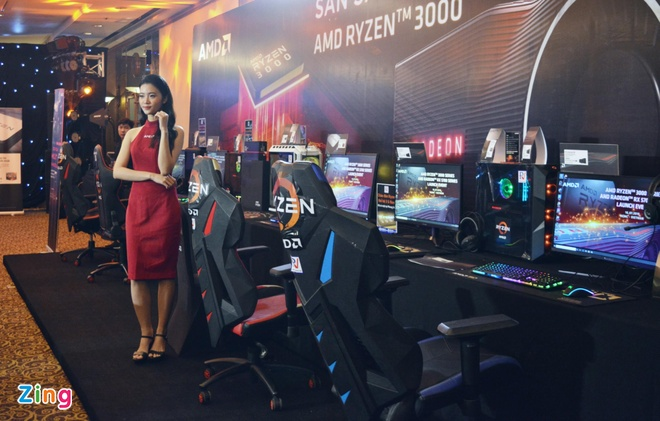 AMD ra mat dong card RX 5700 va chip Ryzen doi 3 o VN, chuyen gaming hinh anh 1