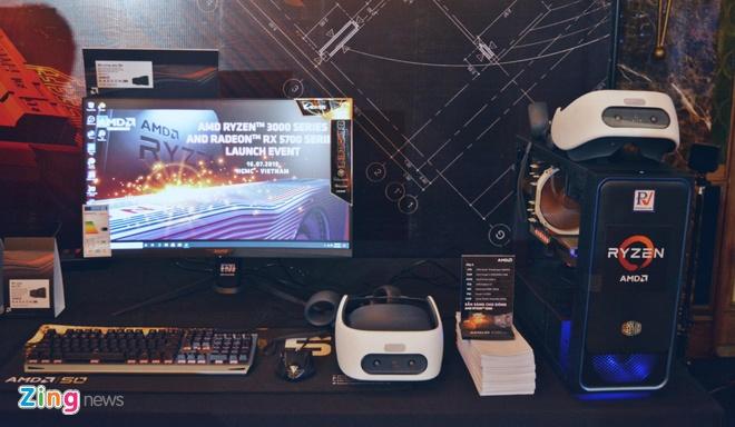 AMD ra mat dong card RX 5700 va chip Ryzen doi 3 o VN, chuyen gaming hinh anh 2