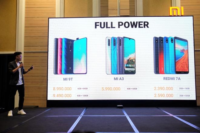 Xiaomi mang Redmi 7A, Mi A3 va Mi 9T ve VN, gia tu 2,3 trieu dong hinh anh 17
