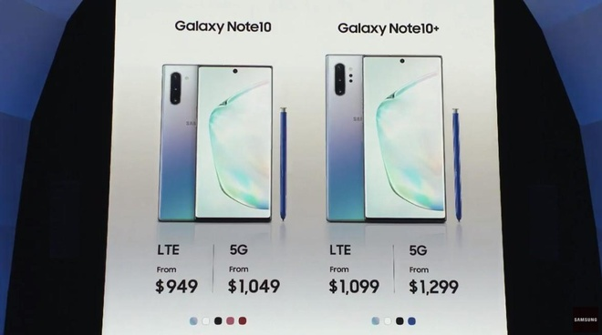 Galaxy Note10 co phai chi la 'chim moi' de Samsung ban Note10+? hinh anh 1